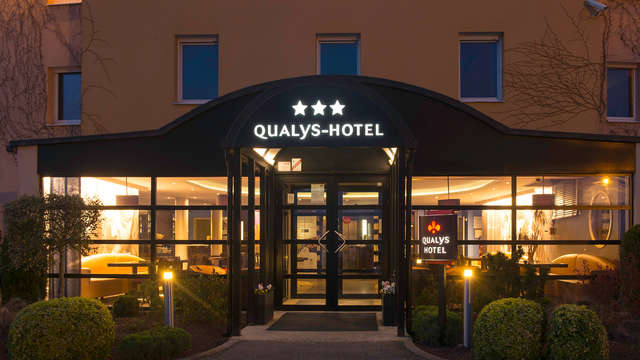 Hotel The Originals Reims- Tinqueux ex Qualys-Hotel