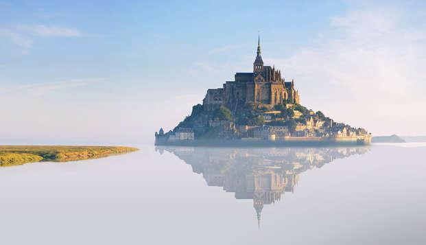 Week-end en chambre Prestige face au Mont-Saint-Michel