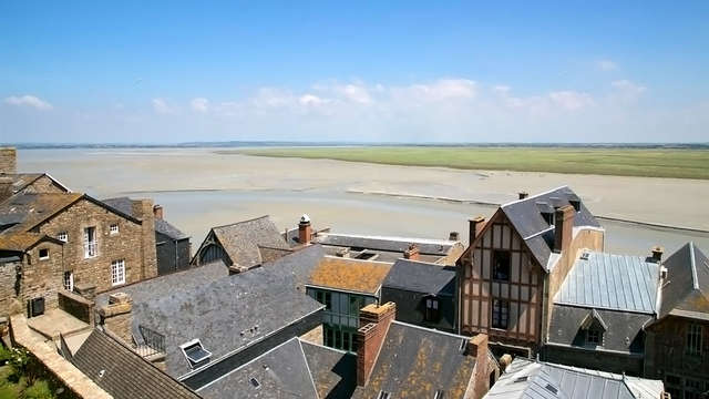 Week-end dans la maison historique d'Annette Poulard au Mont-Saint-Michel
