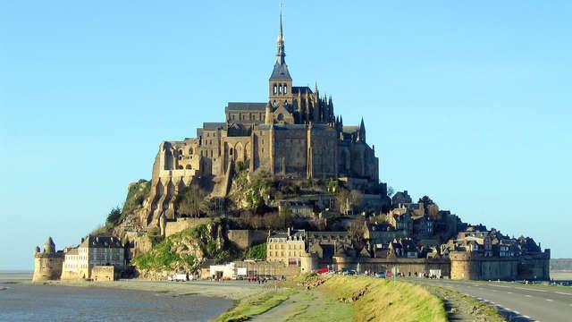Séjour dans le bâtiment le plus vieux du Mont-Saint-Michel