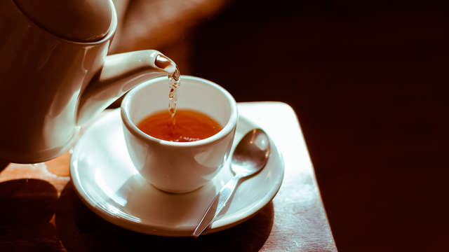 Café-té para 2 adultos