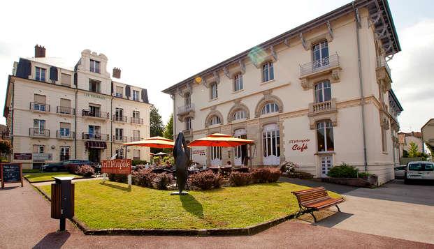 Week-end en appartement à Luxeuil-les-bains