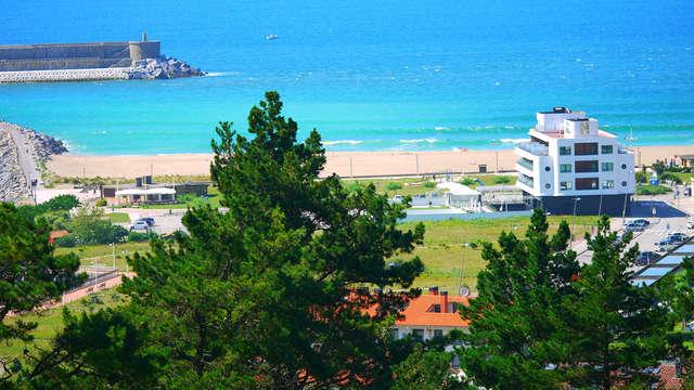 Escapada con Cena romántica, acceso al Talaso y Tratamiento en una de las mejoras zonas costeras