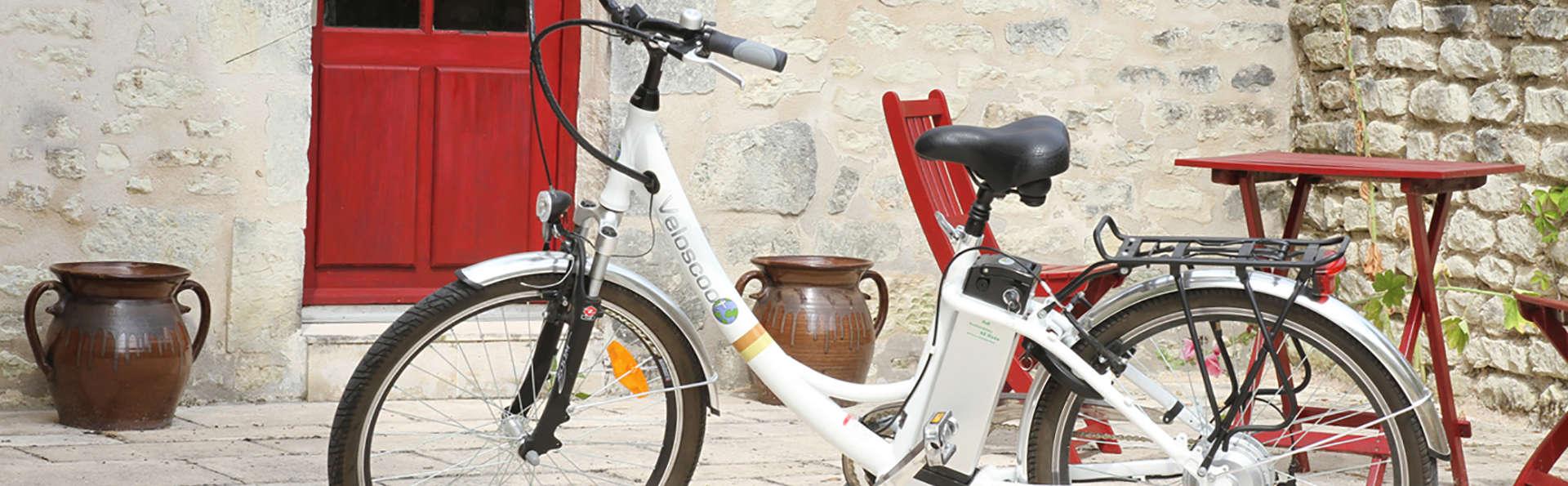 Séjour en famille et balade à vélo en pleine nature