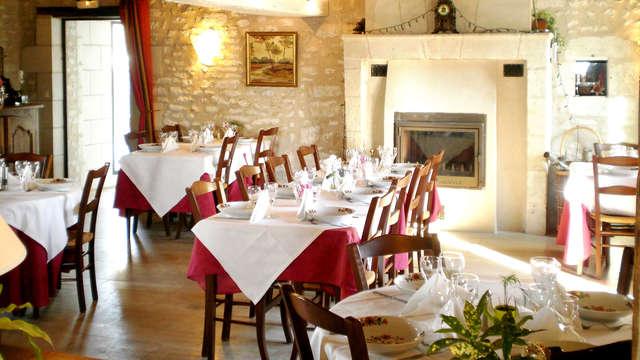 Séjour gourmand dans un hôtel de charme près de Poitiers