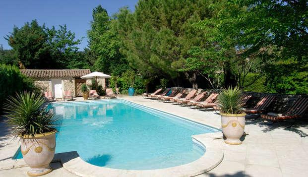 Week-end dans un établissement de charme à deux pas d'Avignon