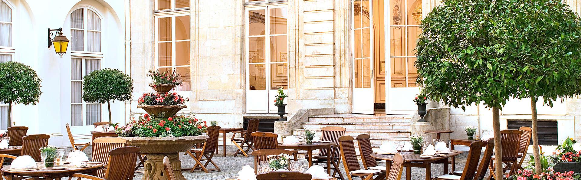 Week-end détente à Paris