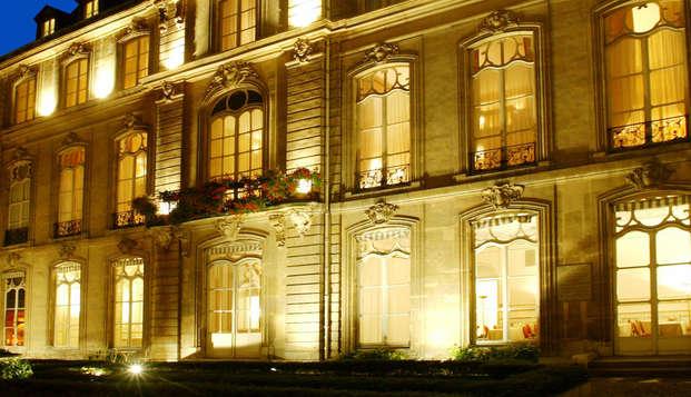 Week-end détente en chambre supérieure à Paris