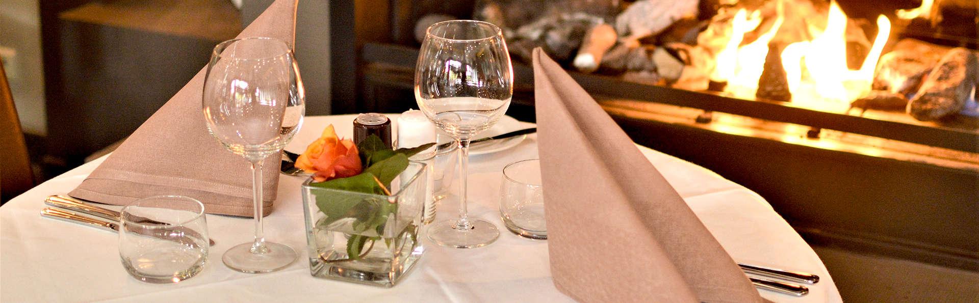 Délicieux dîner trois plats dans un hôtel décontracté du Limbourg