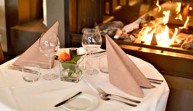 Heerlijk driegangendiner in relax hotel in Limburg