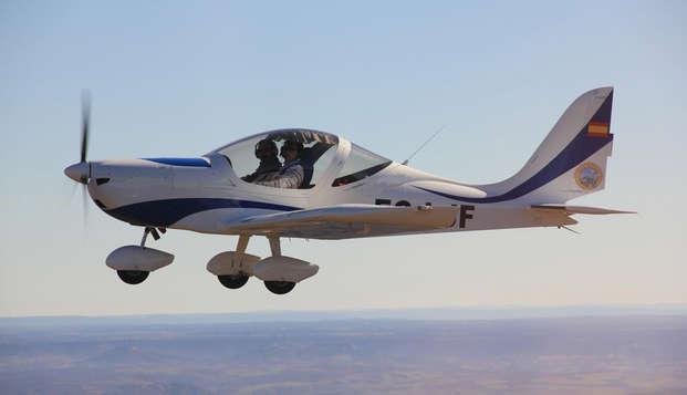 Découvrez l'expérience de vol en ultraléger près de Berga