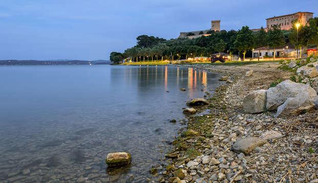 Pause nature avec spa à deux pas du lac Trasimène