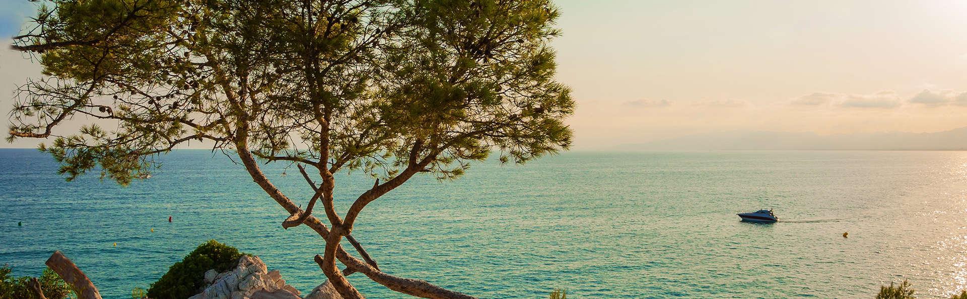 Vacaciones en la costa del Maresme en media pensión