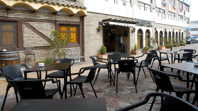Escapada con cena romántica cerca de Zaragoza