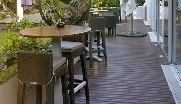 Cezanne Hotel Spa - NEW TERRACE