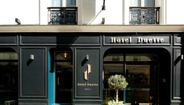 Hotel chic y de diseño en el distrito 17 de París