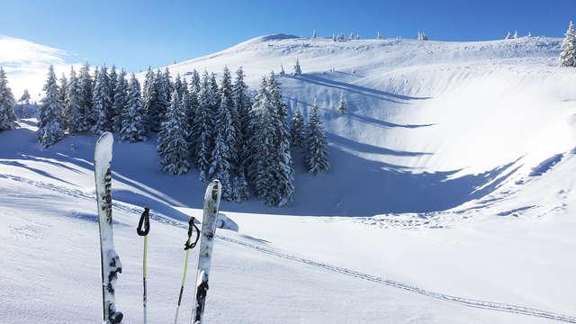 Profitez d'un séjour au ski face au Jura !