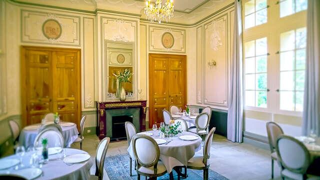 Gastronomie et détente dans un château aux portes de Nîmes