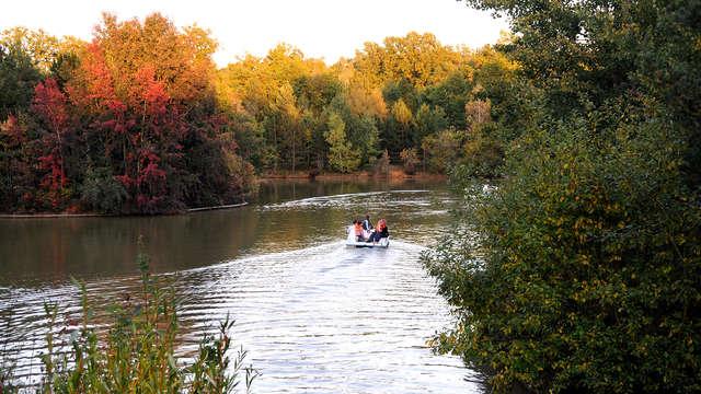 Week-end en cottage premium jusqu'à 4 personnes au Center Parcs Domaine des Bois-Francs ( 7 nuits)