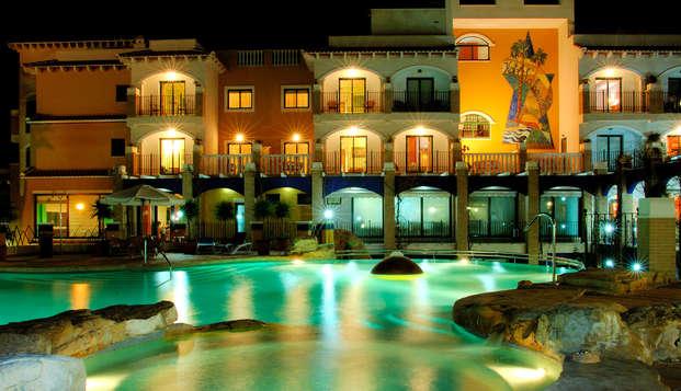 Spa Lovers; escapade romantique avec circuit spa4*, cava et chocolats sur la Costa Blanca