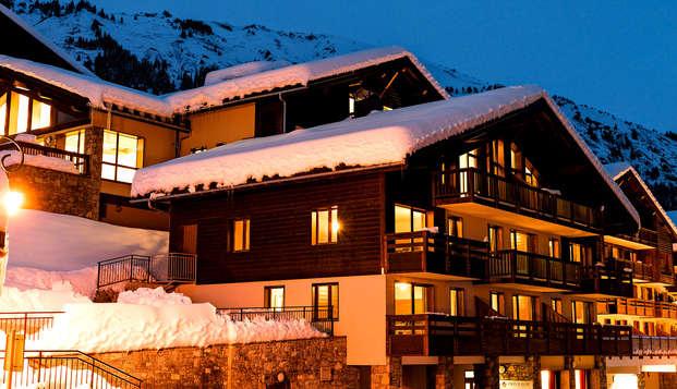 Séjour détente en appartement, au coeur du domaine skiable Espace Diamant