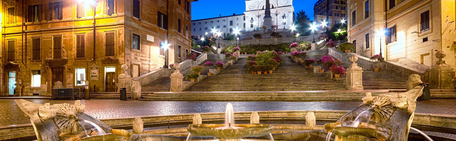 Romanticismo a Roma: in camera superior con cena romantica e late check-out!