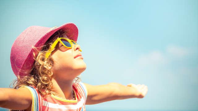 1 Gratuité enfant (hébergement et prestations) jusqu'à 10 ans