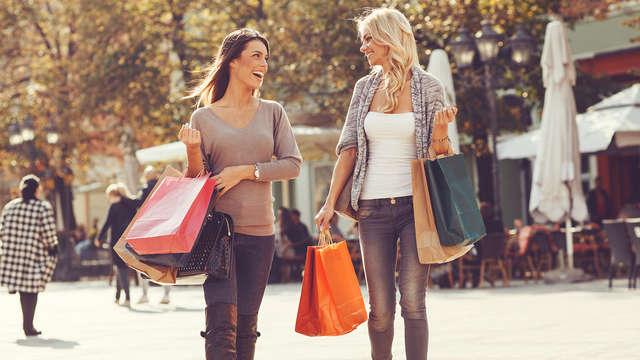 Verblijf in luxe en shop er op los in het winkelcentrum van Maasmechelen