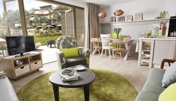 Relax en familia en un súper resort cerca de París (2 noches)