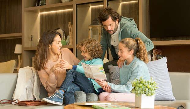 Olvídate de la rutina y disfruta en familia de un magnífico resort cerca de París (3 noches)