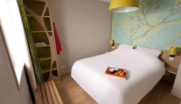 Buen precio y plena autonomía en un apartamento a 30 minutos de París (3 noches)