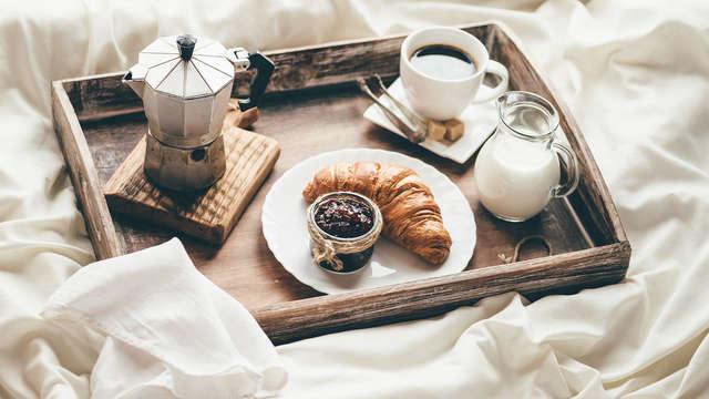 prima colazione servita in camera