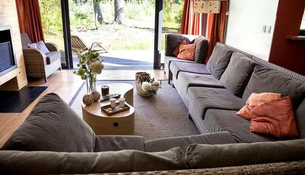 Week-end en cottage comfort jusqu'à 6 pers. au Center Parcs Domaine des Hauts de Bruyères (2 nuits)