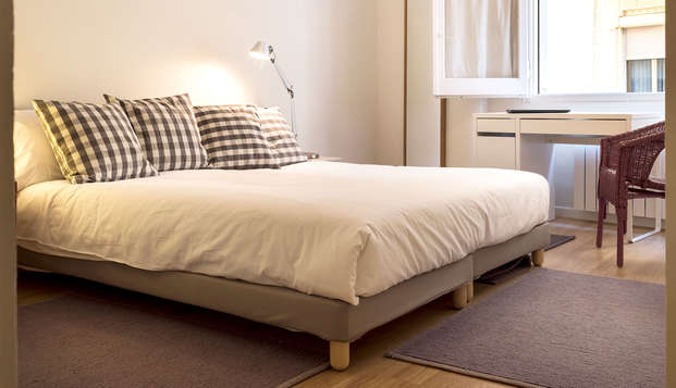 Especial Barcelona: apartamentos de diseño para 4 adultos