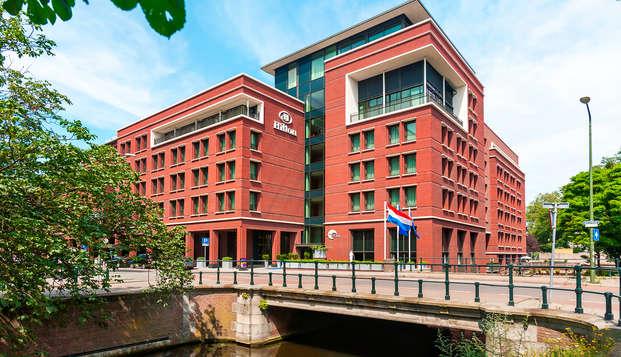 Ondek Den Haag en overnacht in het Hilton
