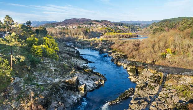 Escapada Relax con  acceso al Spa en un hotel de diseño junto al río Miño
