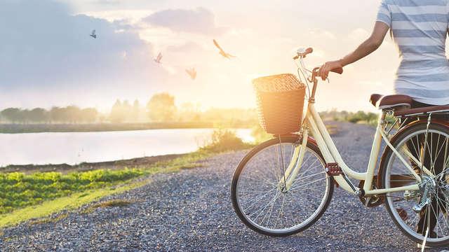 1 Paseo en bicicleta para 2 adultos
