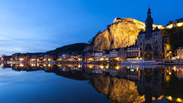 Parenthèse enchanteresse à Dinant : Détente et casino dans un ancien monastère (à partir de 2 nuits)