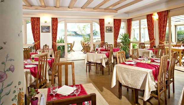 Week-end avec dîner et accès au SPA à proximité de Courchevel