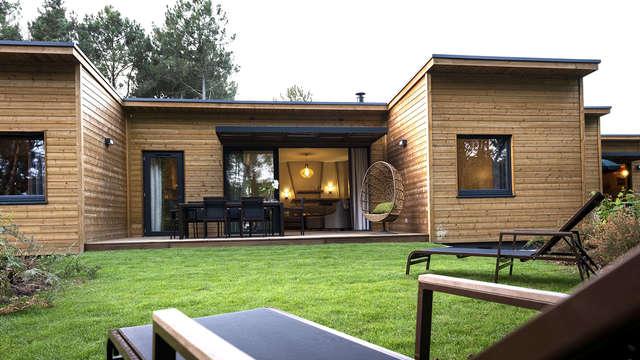 Week-end en cottage premium jusqu'à 4 personnes au Center Parcs Domaine du Bois aux Daims (2 nuits)