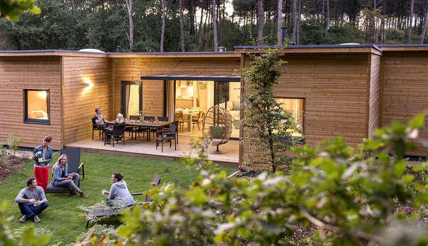 Week-end en cottage premium jusqu'à 6 personnes au Center Parcs Domaine du Bois aux Daims (7 nuits)