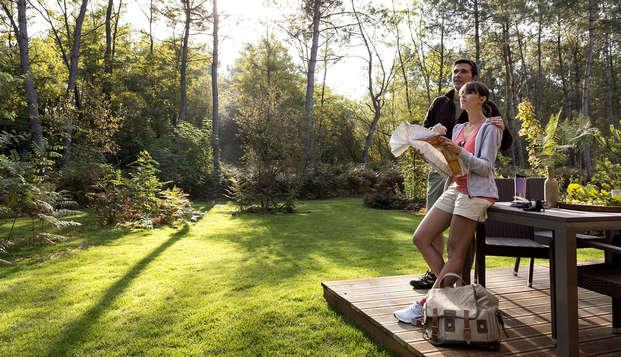 Week-end en cottage premium jusqu'à 6 personnes au Center Parcs Domaine du Bois aux Daims (3 nuits)