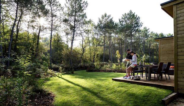 Week-end en cottage premium jusqu'à 4 personnes au Center Parcs Domaine du Bois aux Daims (7 nuits)
