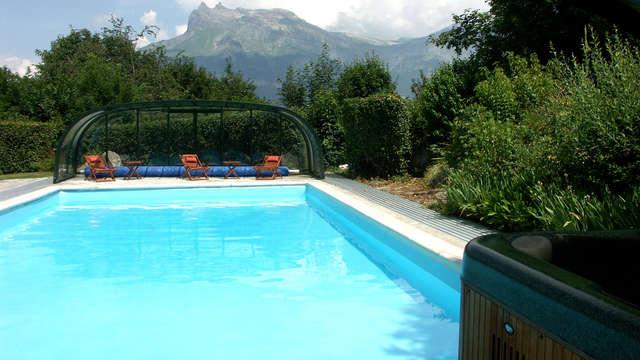 Verblijf in de bergen, tussen Chamonix en Megève