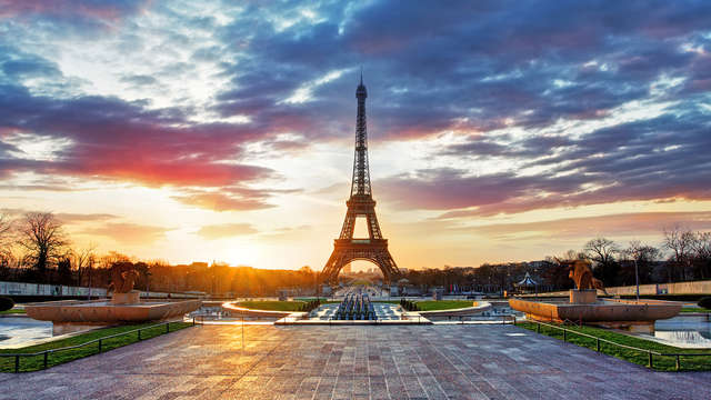 Séjour de luxe aux portes de Paris dans une chambre executive avec champagne