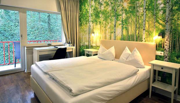 Verblijf in een gezellig hotel met diner