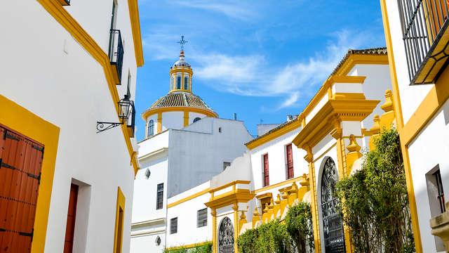 Descubre la mágica Sevilla en habitación doble en un hotel 4* en Benacazón
