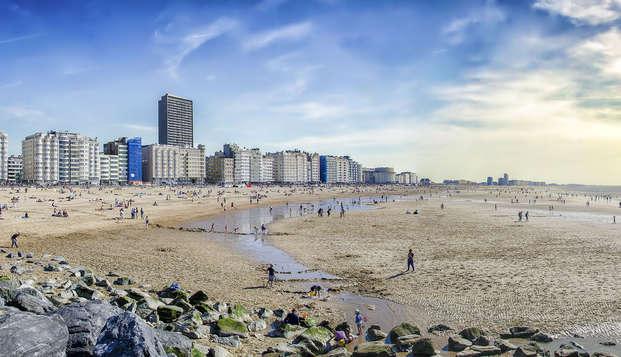 Une bouffée d'air frais sur la côte d'Ostende (à partir de 2 nuits)