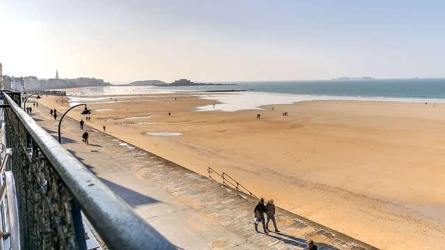 Escapada con vistas al mar en Saint Malo