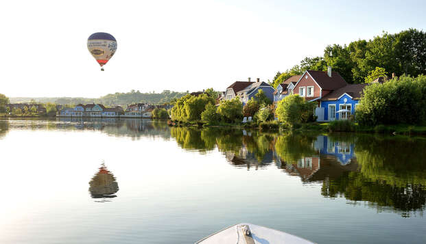 Verblijf in een premium huisje tot 6 personen in Centre Parcs Domaine de l'Ailette (2 nachten)